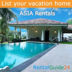 List your ASIA vacation rentals homes